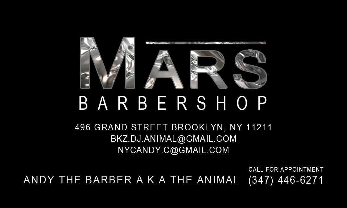 Mars barbershop in williamsburg brooklyn twins print andy reheart Images